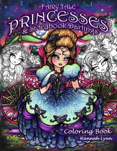 This Is Hannahs Eighth Coloring Book Other Girls Of Whimsy 50 Fan Favs Enchanted Halloween Fairies Faces Mermaids