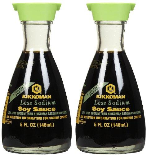 Kikkoman Soy Sauce In Dispenser 5 Fl Oz Pack Of 2 Razy Aquaq
